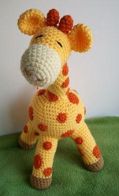 Tumblr+crochet   Gilbert the Giraffe Crochet Pattern by yarnabees on Etsy on imgfave