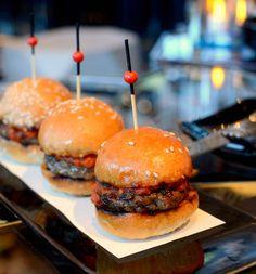 Mini Wagyu Beef Burger @ Ozone