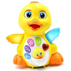 awesome TOYK Musical Duck toy Lights Action With Adjustable Sound