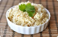 Cilantro Lime Rice - made this tonight with basmati rice and it was great!