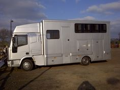 This 1996 #Iveco 75E15 #horsebox carries up to four horses | For #sale on #HorseDeals