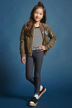 6dc24155764d FOREVER 21 girls Girls Skinny Jeans (Kids) Girls Skinny Jeans