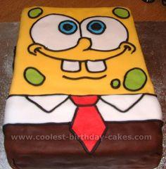 Sponge Bob Cake cj-birthday-ideas