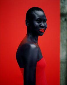 Alex Wek by Jean-Baptiste Mondino