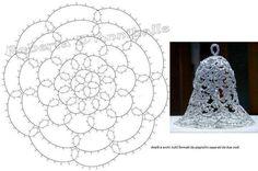 Decorazioni Natalizie, foto della mia creazione più schemi (presi dal web)