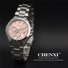 CHENXI watch women fashion luxury watch Reloj Mujer Stainless Steel Quality Diamond Ladies Quartz Watch Women Rhinestone Watches Oh Yeah Visit us