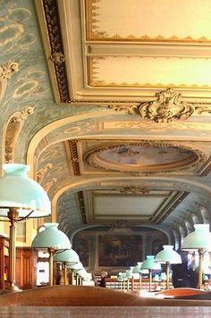 Library, La Sorbonne, Paris