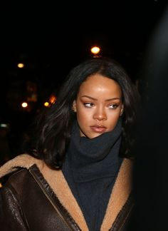Rihanna in Paris
