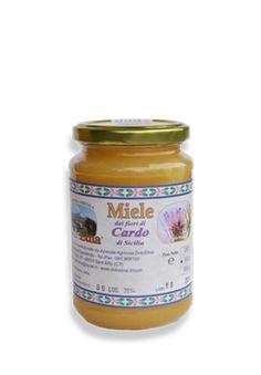 Miele vergine integrale dei fiori di Cardo