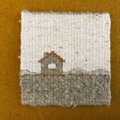 Sarah Swett, tapestry weaving