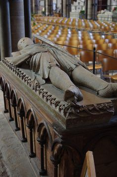 Tomb of William Longespe, Earl of Salisbury    		Illegitimate son of Henry II and Half Brother of King John,Salisbury Cathedral