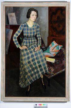 Portrait of Nina Hamnett by Roger Elliot Fry