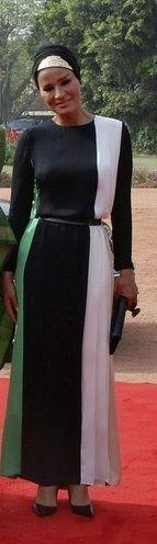 Sheikha Mozah of Qatar in India!