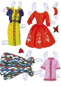 Barbie and Ken cut outs 196 - Bobe Green - Picasa Web Albums Barbie Paper Dolls, Paper Dolls Book, Vintage Paper Dolls, Paper Toys, Vintage Barbie, Paper Crafts, Card Crafts, Barbie Und Ken, Barbie Games