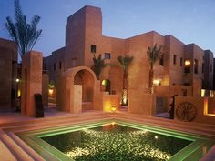 Patio Pool at Bab Al Shams Resort, Dubai