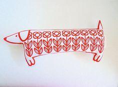 dachshund dog toy
