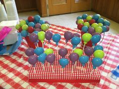 Balloon lollipops & cake pops