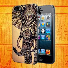 Elephant Relic Elephant for iPhone 5S iPhone 5C by HEAVENSOLO, $13.00