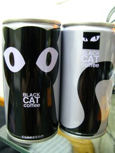 packaging, The artwork here is contemporary, I'd like to try this. I Love Coffee, Coffee Art, Black Coffee, Funny Commercials, Funny Ads, Cool Packaging, Coffee Packaging, Commercial Ads, Branding