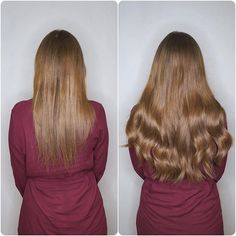 This is colour 248 Multi-Tonal Browns and Golds with a darker root.  A full Head gives you 200g of Double Drawn Russian Virgin Hair.  We offer a FREE colour match cut and style in our salons.  #hair #beforeandafter #hairextensions #hairextensionspecialist #extensionsspecialist #lovehair #clipins #clipinhair #clipinhairextensions #completelyseamless #seamlessclipins #seamlesshair #besthairextensions #hairextensionslondon #londonhair #londonhairsalon #hairsalon