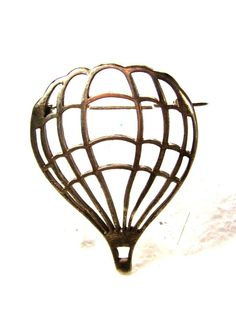 Vintage Up Up & Away Sterling Silver Hot Air Balloon Brooch Unbranded 7215   eBay
