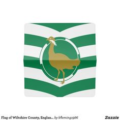 Flag of Wiltshire County, England Checkbook Cover
