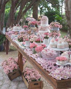 Mesa inspiradora para aniversário/shower/casamento boho style