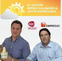 Blog de AJE Región de Murcia_PEDRO ESPINOSA Y MIGUEL LÓPEZ, JÓVENES EMPRESARIOS DEL AÑO