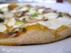 Easy Homemade Whole Wheat Pizza Dough with ONLY 5 INGREDIENTS!!! - (a)Musing Foodie #HH30Days #recipe #pizza