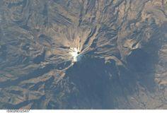 Pico de Orizaba, el mas alto de México, visto desde el espacio...
