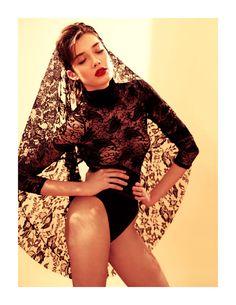 Leotard. Stefania Ivanescu by Tibi Clenci for Fashion Gone Rogue