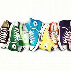 Colourful Converse