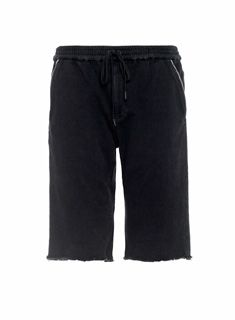 Part of Joe's 24/7 Sport Luxe Collection, the Knockout Jogger Short in Jimon is meticulously crafted using a super soft Japanese selvedge fabric. This black stretch terry short has an elastic waistband with a black shoelace drawstring, dropped rise, angled front pockets with selvedge trim, and a raw hem. Casual sportswear at its finest.