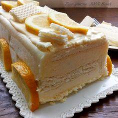 Semifreddo al limone con wafer e cioccolato bianco