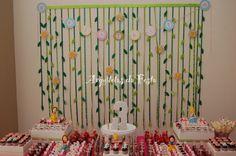 Inspire sua festa: Painel de fitas - Como fazer