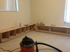 Bench/Storage For Davin's Playroom.