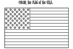 American Flag For Independence Day Coloring Pages - Download & Print Online Coloring Pages for Free | Color Nimbus