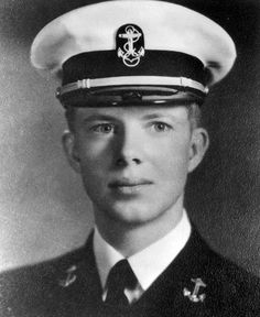Jimmy Carter studied at Georgia Southwestern and the Georgia Institute of Technology before earning his bachelor's degree at the United States Naval Academy prior to being commissioned as an Ensign in the Navy in 1946.