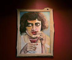 Mix Medium painting Original art Wall decor Acrylic