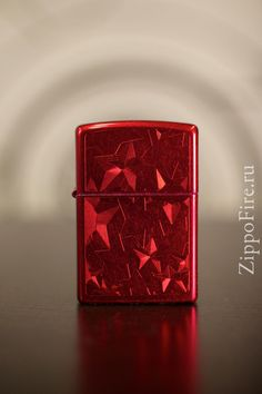 Zippo Candy Apple Red Iced Stars