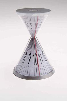 Hourglass Desk Clock