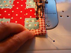 Machine binding tutorial from bloomin' workship