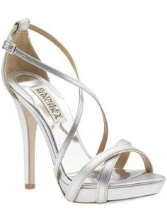 Something to be said for the perfect strappy silver sandals.