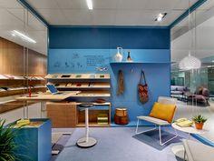 La empresa Haworth es uno de los líderes mundiales en mobiliario para espacios de trabajo, y para la reciente edición de la feria NeoCon colaboró con la reconocida diseñadora Patricia Urquiola para repensar el espacio de trabajo.