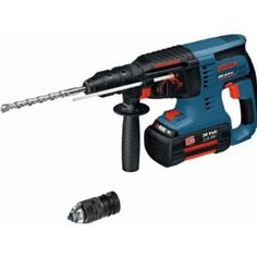 Bosch +Gbh 36-Vf '2 Akkus Akku-Bohrhammer 0611901R0B
