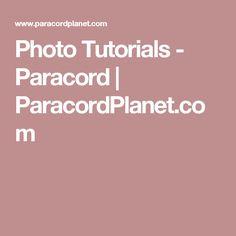 Photo Tutorials - Paracord | ParacordPlanet.com