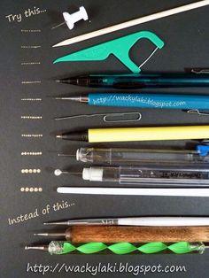 Dotting Tool Alternatives