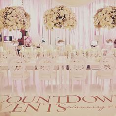 """143 Likes, 4 Comments - CountDown Events (@countdownevents) on Instagram: """"No other event showcases the top designs in the wedding world like #cremeshow. Get your limited…"""""""