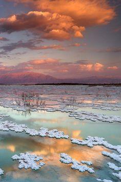Dead Sea, Israel by Elroyie David