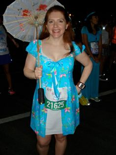 Giselle from Enchanted running costume #rundisney